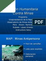 Accion    humanitaria contra minas