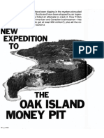 OAK ISLAND MONEY PIT NEW EXPEDITION by Al Masters