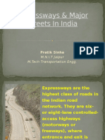 Expressways & Major Street Roads