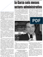 31-01-16 Calcula De la Garza seis meses para reestructura administrativa