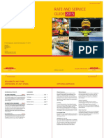 Dhl Express Rate Service Guide 2015