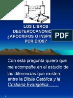 LOS LIBROS DEUTEROCANÓNICOS.ppt