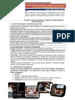 Orientación presentación informe final