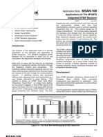 Mt8870,Dtmf Decoder (Application Notes)