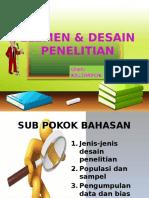 Elemen Penelitian & Desain Penelitian