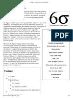 Six Sigma - Wikipedia, The Free Encyclopedia