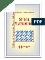 Cartea Studiul Materialelor