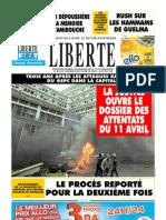 LIBERTE du 11 avril 2010
