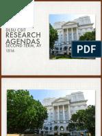DLSU CSIT - Research Agendas PDF