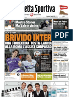 Gazzetta Dello Sport 11-04-2010