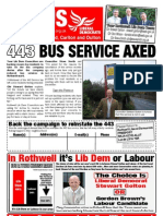 Elmet and Rothwell Liberal Democrats - FOCUS Leaflet - December 2009