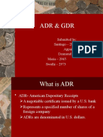 ADR and GDR- CF ppt