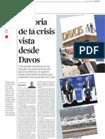 La crisis vista desde Davos