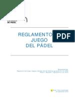 REGLAMENTO DE PADEL 2010