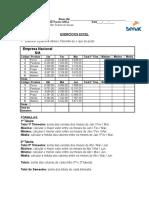 Exercicio Excel