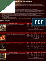 Fire Emblem Awakening - Clases + Habilidades