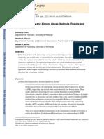 ADHD, Impulsivity and Alcohol Abuse – Clarck, Wit & Iacono (2)