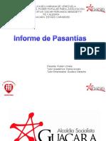 presentacion de Informe de Pasantías