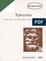 Epicur, Diogenes Din Oinoanda - Epicurea