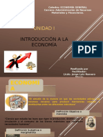 Clase Unidad I - Introducción a La Economía