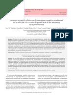 Variables Co-co Intervencion Adicciones