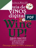 Guia de los mejores vinos y destilados WINE UP! 2016