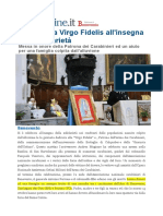 celebrata la virgo fidelis all