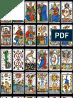 Tarot de Marsella Cartas