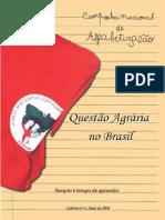 Caderno 01  EJA - Questao Agraria no Brasil, MST, 2008.pdf