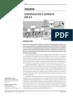Modernizacion y Gerencia Publica