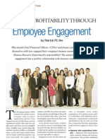 Increase Profitability Through Employee Engagement