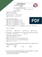 Ficha de Trabalho Axiomatica Lei de Laplace