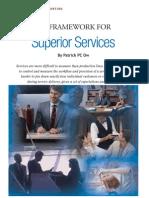 KPI Framework for Superior Service