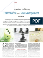 Outperform by Linking Performance and Risk Management