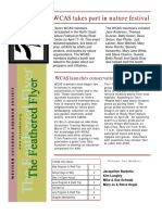 WCAS Feathered Flyer Newsletter April 2004