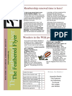 WCAS Feathered Flyer Newsletter Aug - Oct 2004