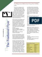 WCAS Feathered Flyer Newsletter Nov 2007 - Jan 2008