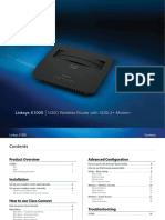 Linksys Wireless Adsl Modem Router x1000 User Manual