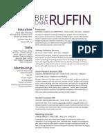 ruffinbreonna resume