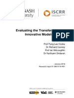 096 Evaluating the Transferability of Innovative Models of Care