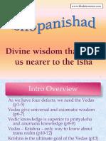 Sri Ishopanishad Slides