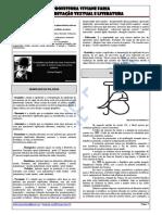 Interpretação Textual e Literatura - SEDF - Encontro 4