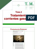 Tratamiento Corrientes Gaseosas
