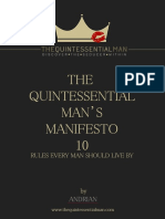 The Quintessential Man's Manifesto - 10 Rules Every Man Should Live By