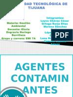 Agentes contaminantes