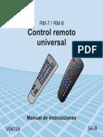 CONTROL RM-8 Steren
