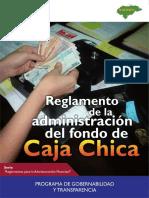Reglamento de Caja Chica Municipalidaes