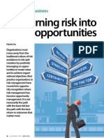 Turning Risk Into Opportunities