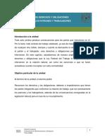 Legislacion Laboral Mexicana-Derechos y Obligaciones