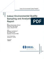 Indoor Environmental Quality Report
